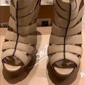Christian Louboutin high heel shoes size 39